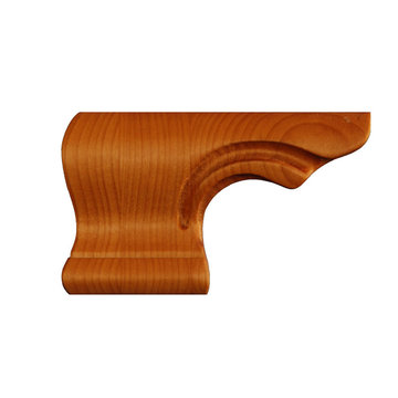 LEFT PEDESTAL END FOOT