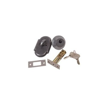 WROUGHT STEEL SINGLE CYLINDER DEADBOLT