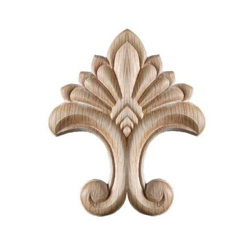 3 1/4 Inch Embossed Applique