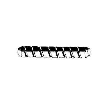 1/4SPIRAL HDWD DOWEL PIN (PK/100)