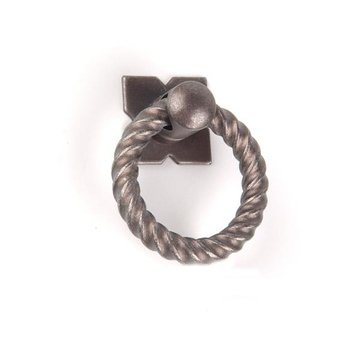 Top Knobs Normandy Collection Small Twist Ring Pull