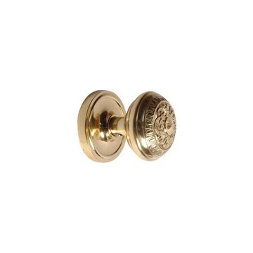 EGG & DART PASSAGE ROSETTE SET WITH ROUND KNOB