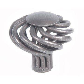 Top Knobs Round Large Twist Knob 1 1/2 Inch