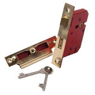 5 LEVER MORTISE LOCK WITH KEY