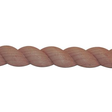1 3/4 Inch Half Round Rope Molding