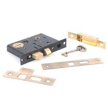 2 1/2 PRIVACY MORTISE LOCK WITH KEY