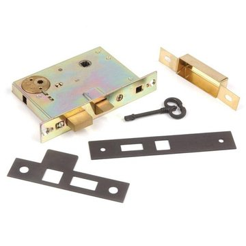 2 1/2 PRIVACY MORTISE LOCK FOR THUMBTURN