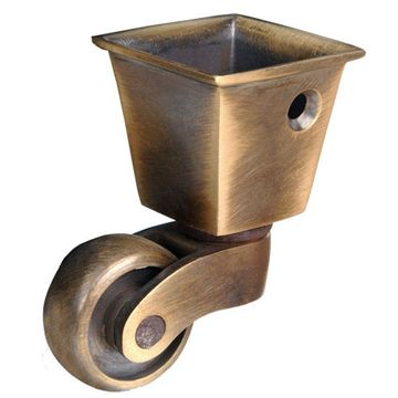 Armac Solid Brass Square Cup Caster