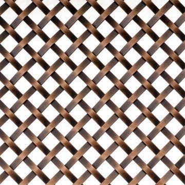 Kent Design 286S 1/4 Flat Single Crimp Wire Grille - 36 x 48