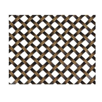 Kent Design 286S 1/4 Flat Single Crimp Wire Grille - 18 x 48