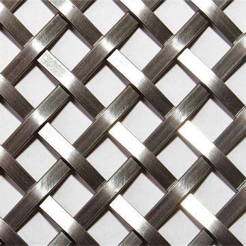 Kent Design 286S 1/4 Flat Single Crimp Wire Grille - 18 x 24