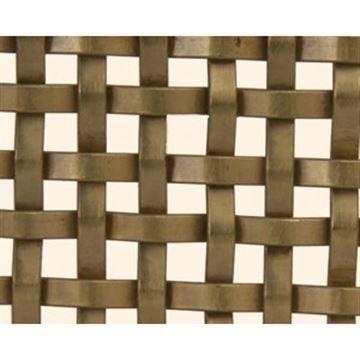 Kent Design RE25 1/8 Flat Single Crimp Wire Grille - 18 x 48