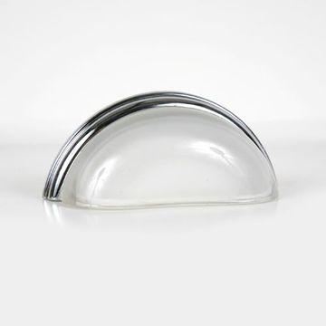 Lewis Dolin Glass Bin Pulls