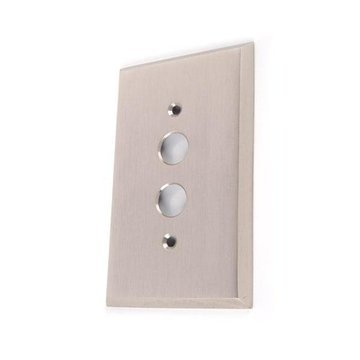 SINGLE PUSH BUTTON SWITCHPLATE