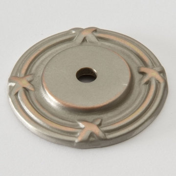 Classic Brass St George Collection Backplate - 1 1/2 Inch Diameter