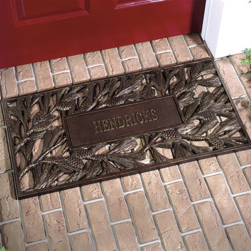 PERSONALIZED CAST ALUMINUM DOORMAT