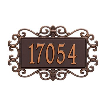 STANDARD PERSONALIZED WALL PLAQUE