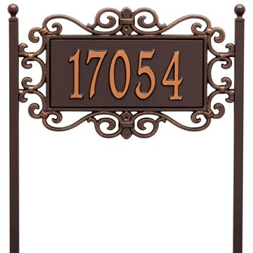Whitehall Standard Personalized Lawn Plaque