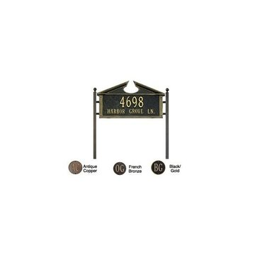 FEDERAL STANDARD PERSONALIZED LAWN PLAQUE