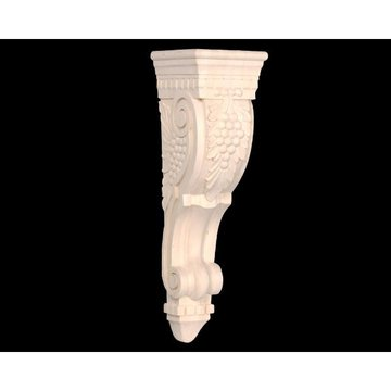 27 GRAPE & DENTIL CORBEL