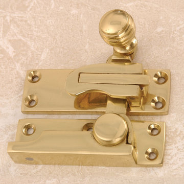 SASH LOCK WITH BALL KNOB