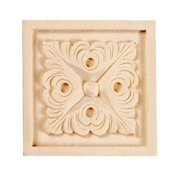 Legacy 3 1/2 Inch Square Leaf Applique