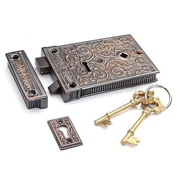ORNATE RIM LOCK