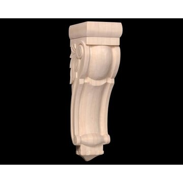 Legacy Signature 26 1/2 Inch Scroll And Leaf Corbel