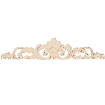 "Legacy 12"" Shell & Leaf Carved Applique"