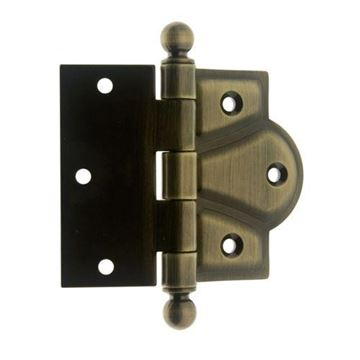 idh by St. Simons 3 1/2 Inch Half Mortise Hinge