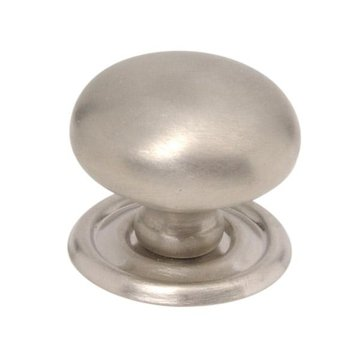 KNOB WITH REMOVEABLE BACKPLATE