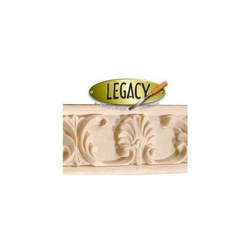 Legacy Signature 8 Foot X 3 Inch Leaf  And Fan Molding
