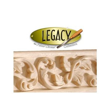 Legacy Signature 8 Foot X 1 5/8 Inch Leaf  And Swirl Molding