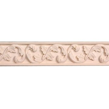 Legacy Signature 8 Foot X 3 Inch Leaf  And Swirl Molding