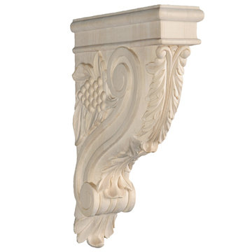 13 1/8 GRAPE AND VINE CORBEL