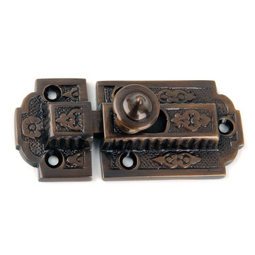 Floral Cabinet Latch