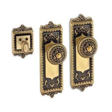 Grandeur Windsor Double Round Knob Entry Set