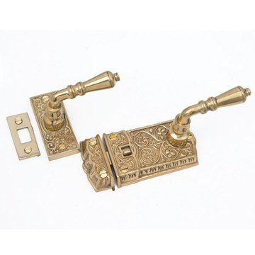 Restorers Victorian Lever Screen Door Latch