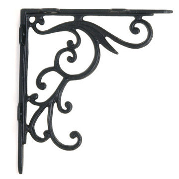 Restorers 10 Inch Iron Shelf Bracket