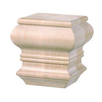 Bun Feet Wooden Furniture Feet Legs For Sale At Van Dyke 39 S