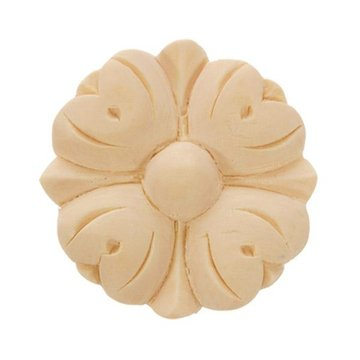 2 1/4 ROUND FLOWER APPLIQUE