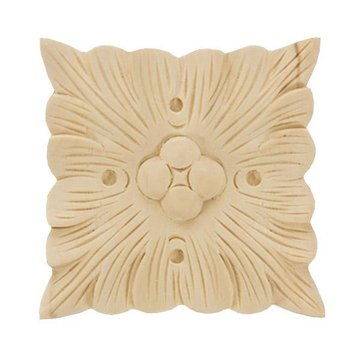 Legacy Signature 3 1/8 Inch Square Leaf Applique