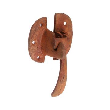 RIGHT HAND BRASS ICEBOX LATCH & CATCH