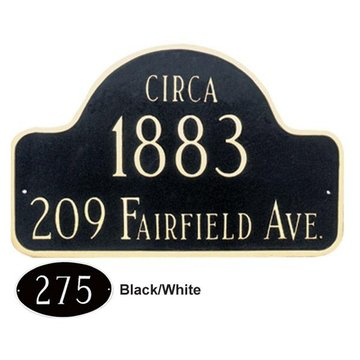 HISTORICAL ARCH PERSONALIZED PLAQUE