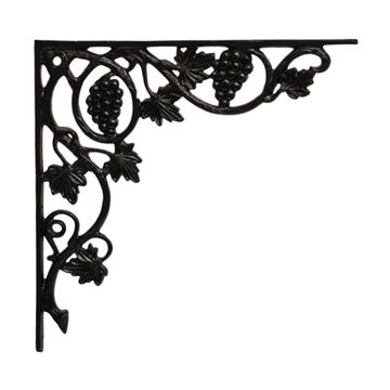 RESTORERS GRAPE & LEAF SHELF BRACKET