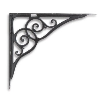 Restorers 18 Inch Heavy-Duty Iron Shelf Bracket