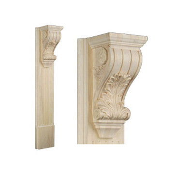 Legacy Signature 42 Inch Acanthus And Flute Pilaster