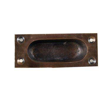 Restorers 3 1/2 Inch Recessed Door Pull
