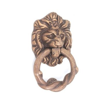 Restorers Iron Lion Head Door Knocker