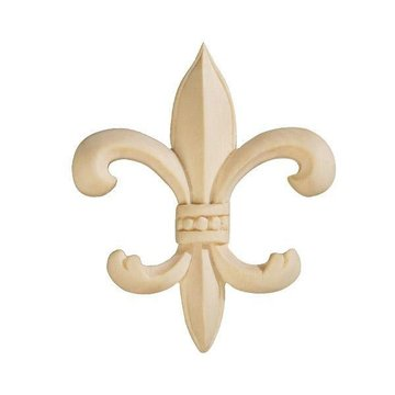 BEADED FLEUR-DE-LIS APPLIQUE